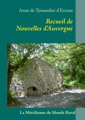 Recueil de nouvelles d'Auvergne - Couverture - Format classique