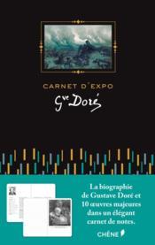 Carnet d'expo gustave dore - Couverture - Format classique
