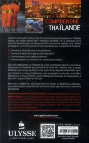 Comprendre la Thailande (2e édition) - 4ème de couverture - Format classique