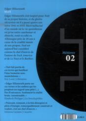 Nuit - 4ème de couverture - Format classique