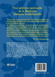 L'art du bon karma ; autre joyau de la médecine tibétaine - 4ème de couverture - Format classique