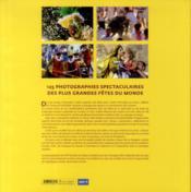Le monde en fêtes - 4ème de couverture - Format classique