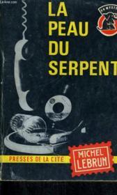La Peau Du Serpent - Couverture - Format classique