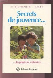 Secrets De Jouvence - Couverture - Format classique