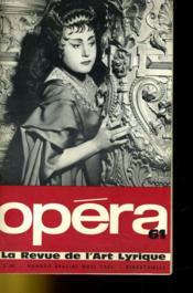 Opera N°61 - Couverture - Format classique