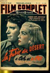 Stars Et Films - Tous Les Jeudis Complet N° 147 - La Furie Du Desert - A Cor Et A Cri ( La Grande Bagarre ) - Couverture - Format classique