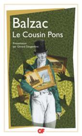 Le cousin Pons - Couverture - Format classique