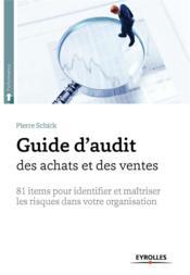 Guide d'audit des achats et des ventes - Couverture - Format classique