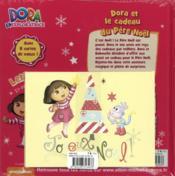 Dora et le cadeau du Père Noël - 4ème de couverture - Format classique