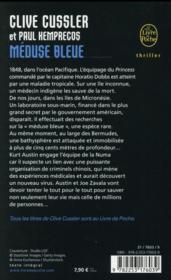 Méduse bleue - 4ème de couverture - Format classique
