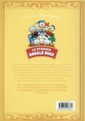 La dynastie Donald Duck ; INTEGRALE VOL.16 ; 1966-1968 ; Picsou roi du Far West et autres histoires - 4ème de couverture - Format classique