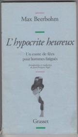 L'Hypocrite Heureux - Couverture - Format classique