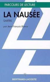 La nausée, de Jean-Paul Sartre - Couverture - Format classique
