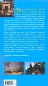 Jardins et châteaux de la Côte d'Azur - 4ème de couverture - Format classique