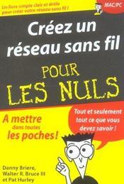 Creer Un Reseau Sans Fil Pour Les Nuls - Intérieur - Format classique
