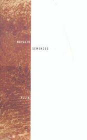 Semences - Intérieur - Format classique