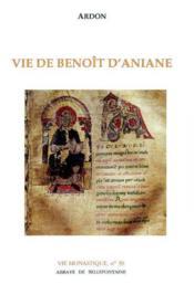 Vie de Benoît d'Aniane - Couverture - Format classique