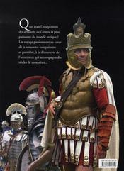 Les légions romaines ; l'armement à travers mille ans d'histoire - 4ème de couverture - Format classique