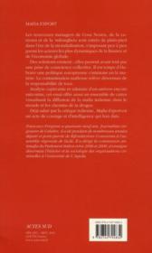 Mafia export ; comment les mafias italiennes ont colonisé le monde - 4ème de couverture - Format classique