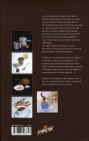 Je fais mes chocolats chauds - 4ème de couverture - Format classique