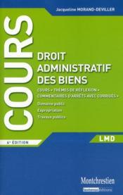 telecharger Cours de droit administratif des biens (6e edition) livre PDF en ligne gratuit