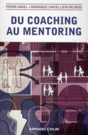 Du coaching au mentoring - Couverture - Format classique