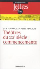 Théâtre du XXIe siècle - Couverture - Format classique