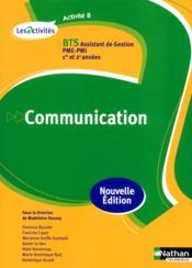 telecharger Activite 8 communication bts livre PDF/ePUB en ligne gratuit