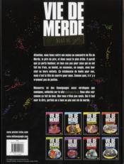 Best of vie de merde - 4ème de couverture - Format classique