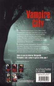 Vampire city t.6 ; fin de partie - 4ème de couverture - Format classique