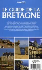 Guide de la Bretagne - 4ème de couverture - Format classique