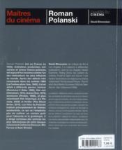 Roman Polanski - 4ème de couverture - Format classique