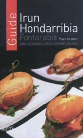 Guide irun hondarribia - fontarabie - Couverture - Format classique
