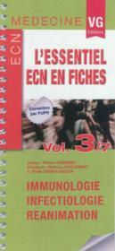 Essentiel Ecn En Fiches Volume3 - Couverture - Format classique