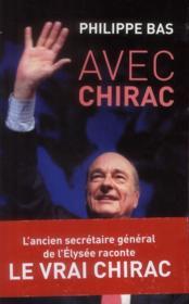 Avec Chirac - Couverture - Format classique