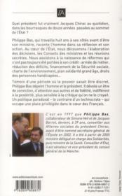 Avec Chirac - 4ème de couverture - Format classique