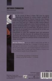 Mammouth - 4ème de couverture - Format classique