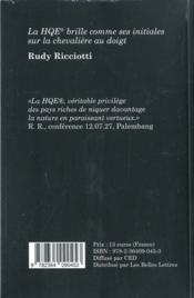 Hqe - 4ème de couverture - Format classique
