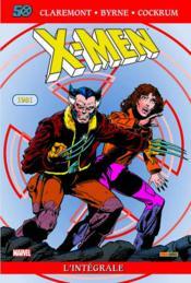 X-Men ; INTEGRALE VOL.5 ; 1981 - Couverture - Format classique