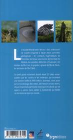 Curiosités géologiques du Léon ; de l'île d'Ouessant à l'île de Batz - 4ème de couverture - Format classique
