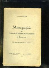 Monographie De L Eglise De St Victor Et De Ste Couronne D Ennezat. - Couverture - Format classique