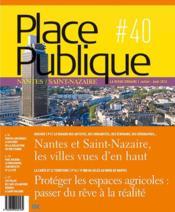 Place publique nantes saint-nazaire n 40 - Couverture - Format classique