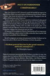 Calico Joe - 4ème de couverture - Format classique