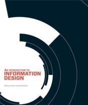 An introduction to information design - Couverture - Format classique