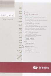 Revue négociations N.20 - Couverture - Format classique