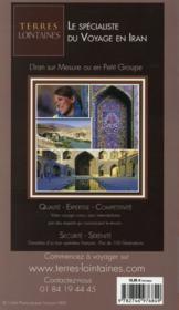 GUIDE PETIT FUTE ; COUNTRY GUIDE ; Iran (édition 2014) - 4ème de couverture - Format classique
