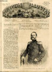 L'UNIVERS ILLUSTRE - SEPTIEME ANNEE N° 323 - Le prince de Frédéric-Charles de Prusse, général-feldzeugmestre, chef d'artillerie. - Couverture - Format classique