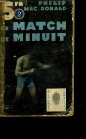 Le Match De Minuit - Death On My Left - Couverture - Format classique