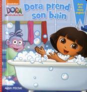 Dora prend son bain - Couverture - Format classique