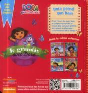 Dora prend son bain - 4ème de couverture - Format classique